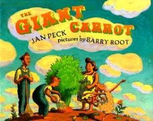 Giant Carrot by Jan Peck