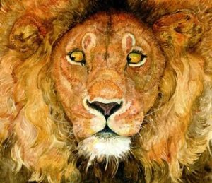 Lion and the Mouse retold and illus by Jerry Pinkney