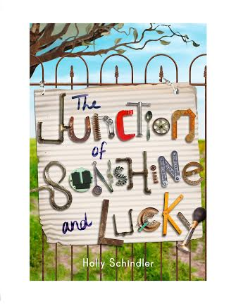 Junction of Sunshine and Lucky by Holly Schindler